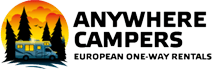 Campervan hire with Anywhere campers