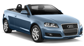 Audi A3 Convertible Car Hire