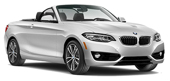 BMW 2 Series Convertible Car Hire