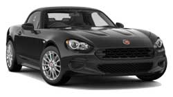 Fiat 124 Spider Convertible Car Hire