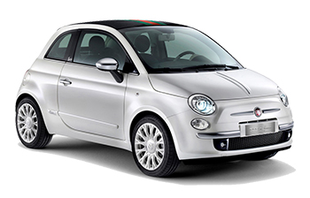 Fiat 500 Convertible Car Hire