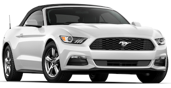Ford Mustang Convertible Car Hire