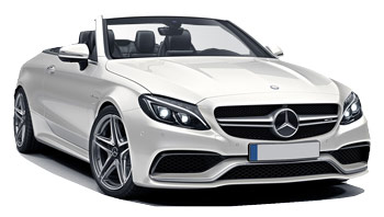 Mercedes C Class Convertible Car Hire