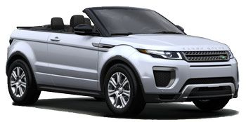 Range Rover Evoque Convertible Car Hire