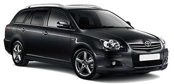 Toyota Avensis Estate Car Hire
