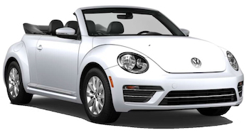 VW Beetle Convertible Car Hire