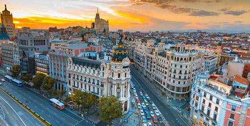Motorhome hire Madrid