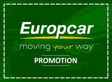 Save up to 25%* with Europcar