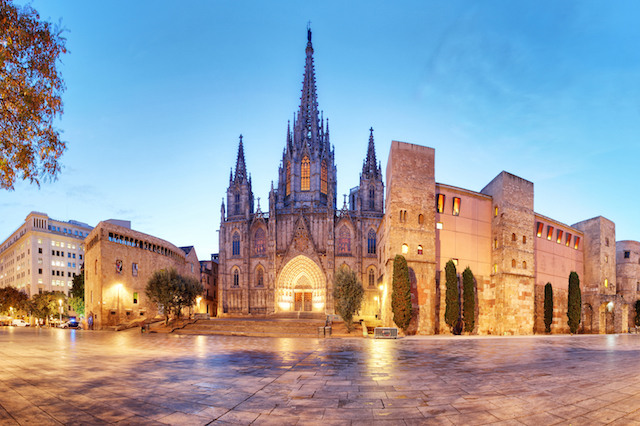 Road trip in Barcelona, Spain