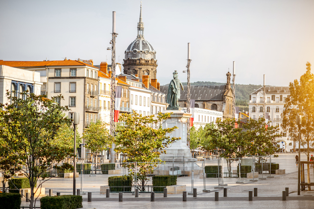 Road trip in Clermont-Ferrand, France