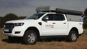 Ford Ranger Double Cab 4x4 Luxury Safari Overlander