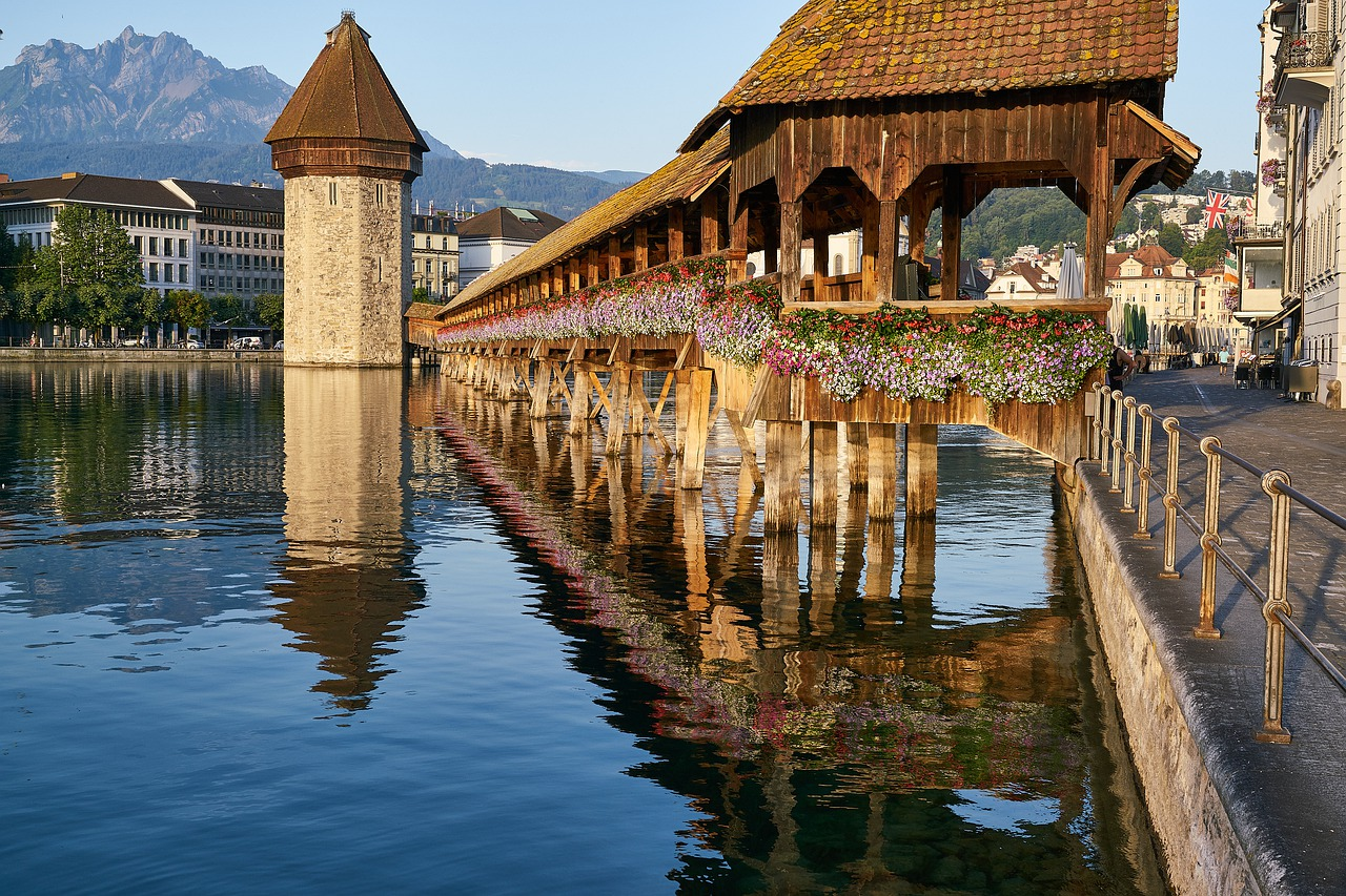 Kapelbrucke - Switzerland