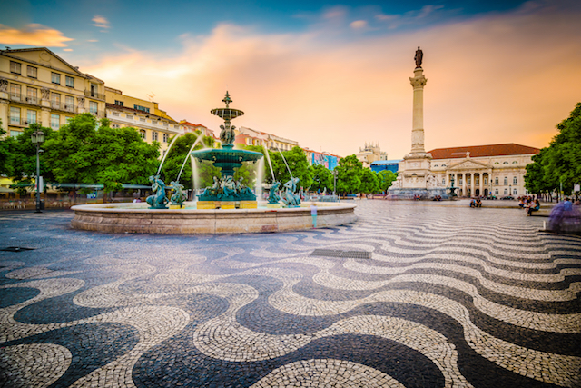 Road trip in Lisbon, Portugal