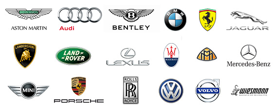 Auto Europe Luxury Car Hire Brands