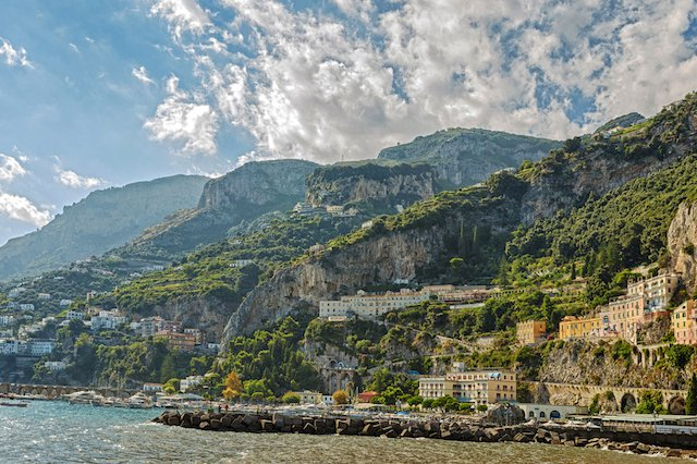 Road trip in Salerno, Italy