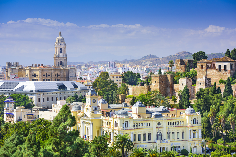 Malaga is a popular stopover for road trippers in Spain