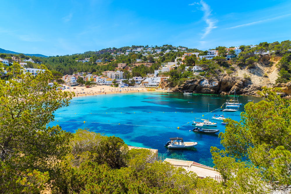 Ibiza's idyllic shoreline has some of the best beaches in Spain