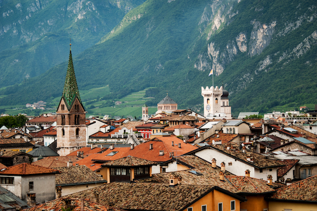 Road trip in Trento, Italy